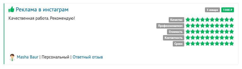 Отзыв о Русфете Кадырове как о специалисте